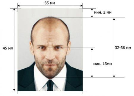 требования к фото на болгарскую визу